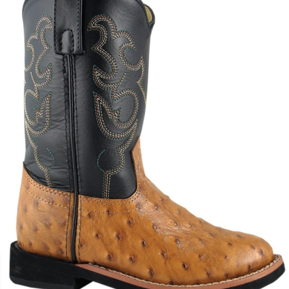 808ab5f7084 Smoky Mountains Kid size 3 genuine leather boots